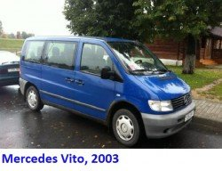 Mercedes Vito, 2003