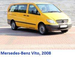 Mersedes-Benz Vito, 2008