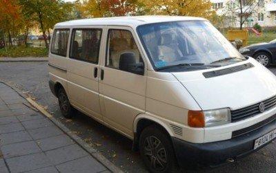 Аренда микроавтобуса Volkswagen Transporter 2000