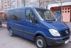 Аренда микроавтобуса Mercedes Sprinter (2009) для выезда за границу