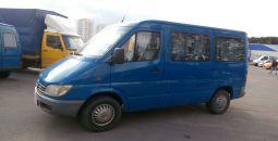 аренда микроавтобуса Mersedes Sprinter 2001 минск без водителя
