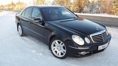 Аренда автомобиля на месяц (Минск): Mercedes W 210