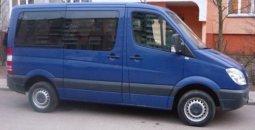 Микроавтобусы напрокат в Минске с водителем: Mercedes Sprinter 2009