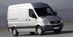 Аренда грузовых бусов: Mercedes Sprinter 2008