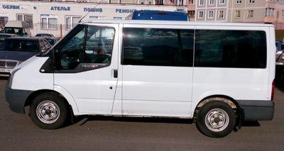 Аренда Ford Transit 2006 с водителем