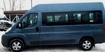 аренда микроавтобуса с водителем в Минске: Peugeot Boxer 2008