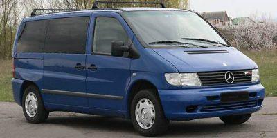 Снять напрокат микроавтобус в Минске Mercedes Vito 2003