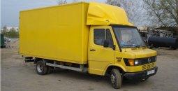 Стоимость аренды грузового автомобиля Mersedes 410 с водителем