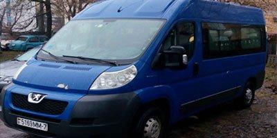Заказать микроавтобус Peugeot Boxer 2008